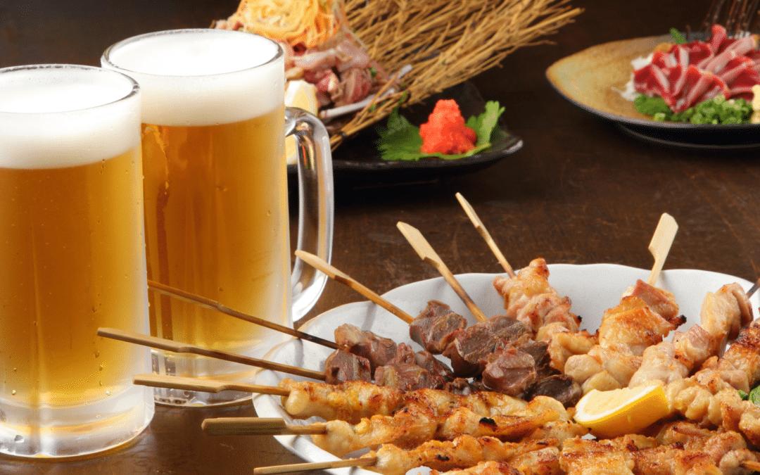 Jai Ho Beer and Japanese Food Pairing